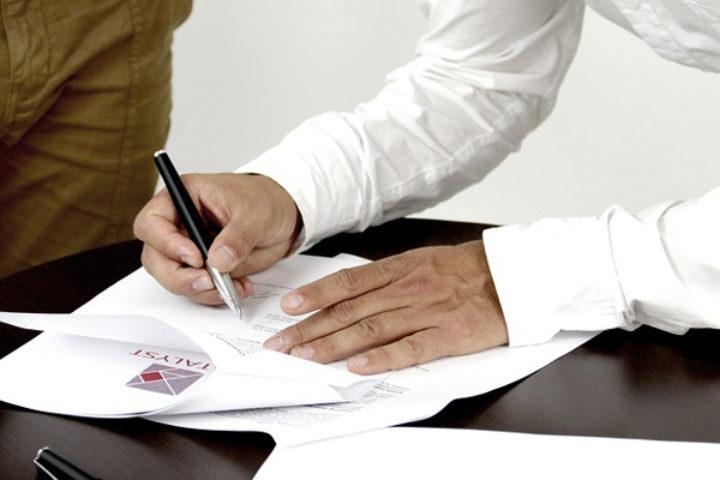 Forbehold i kontrakt