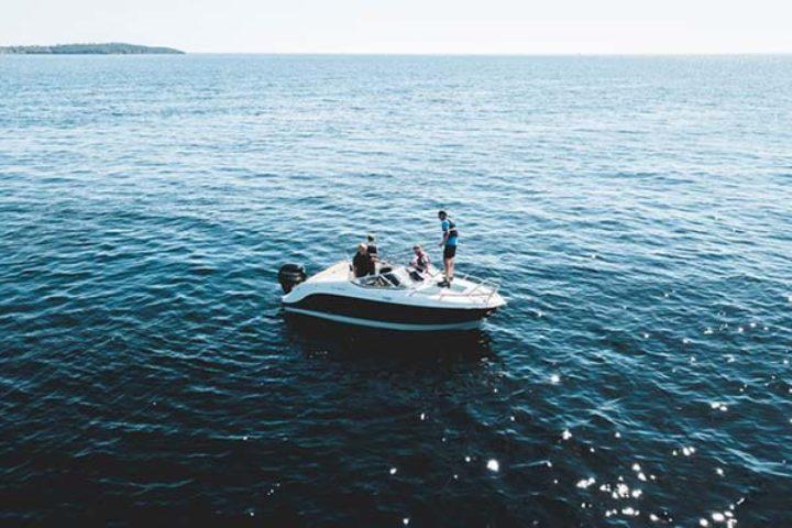 Feil på båt